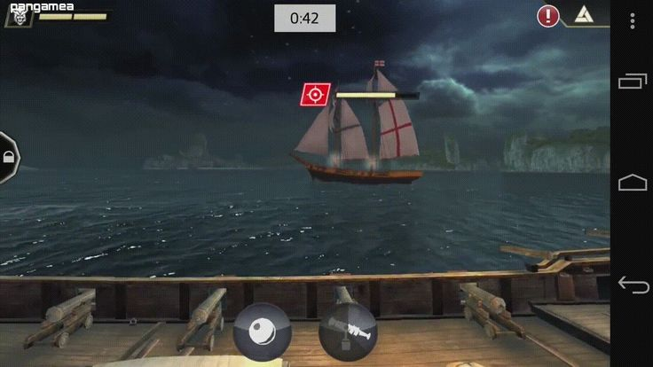 Fight in real-time naval battles all over the Caribbean Sea