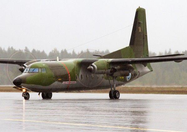 Fokker F27.Finlande_Wikimédia
