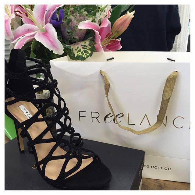 Brand: Siren Store: Freelance Shoes Stye: Railee Colour: Black, Beige, Blue Link: http://freelanceshoes.com.au/catalogsearch/result/?q=railee  Photo by Natalie Anne Hair