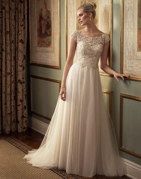 50 vestidos de noiva 2016 para mulheres com pouco busto: modelos lindos! Image: 38