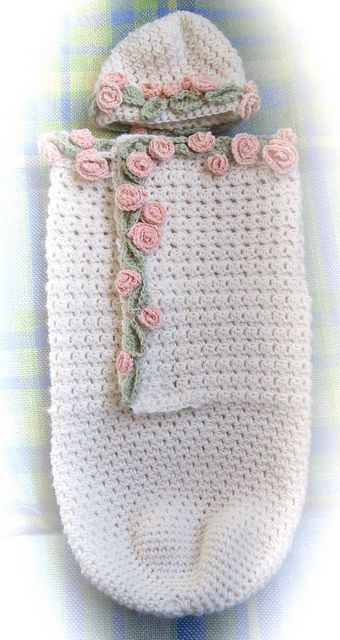 Flower Fairy Cocoon and Hat by Hesterb, via Flickr