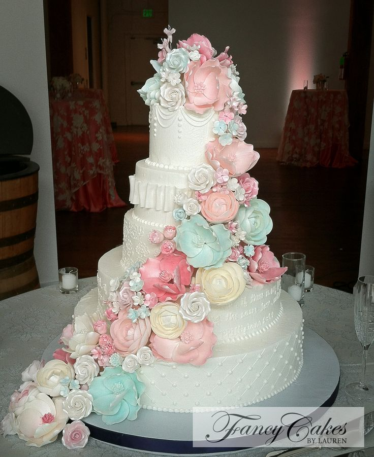 25 Best Ideas About Pastel Wedding Cakes On Pinterest
