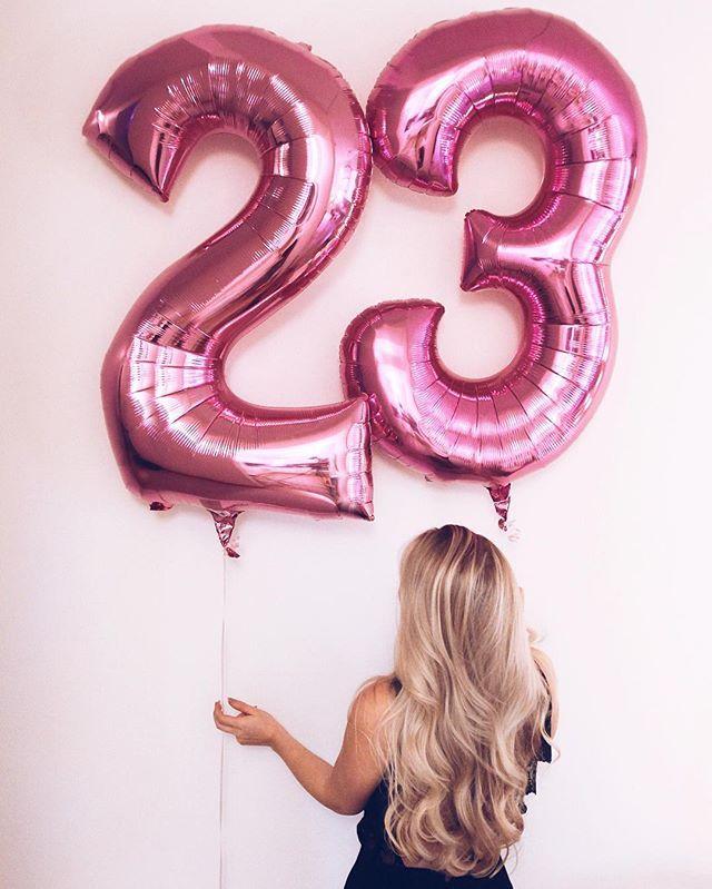 Yup, 23 it is! #birthdaygirl