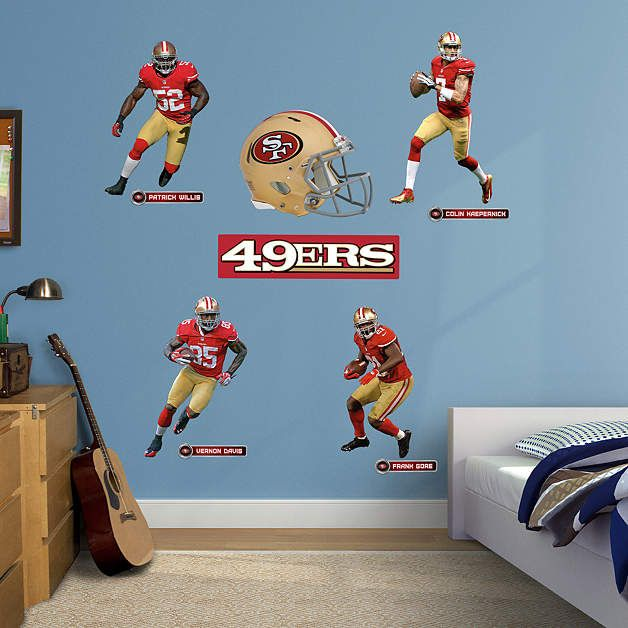 Fathead San Francisco 49ers Power Pack Decals   Wall Sticker Outlet Part 67