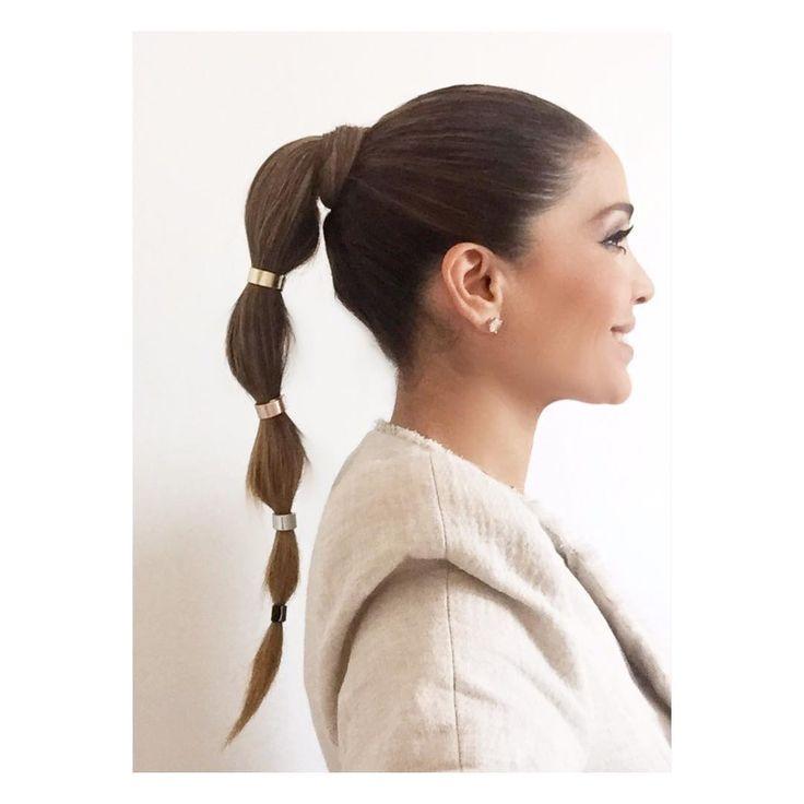 "17 mil Me gusta, 161 comentarios - Karla Martínez (@karlamartineztv) en Instagram: ""Me encanto mi peinado @makeupbyfranz 😘 #hairstyles #ponytail"""