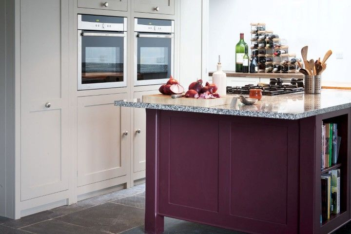 The 25 best brinjal farrow and ball ideas on pinterest for Eye level oven kitchen designs