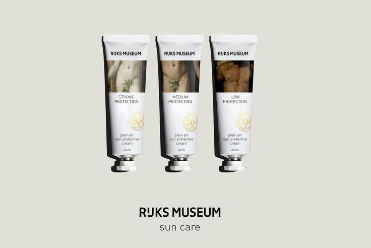 «Plein Air a Haarlem» sun protection creams. Stas Neretin. https://www.behance.net/1iz25
