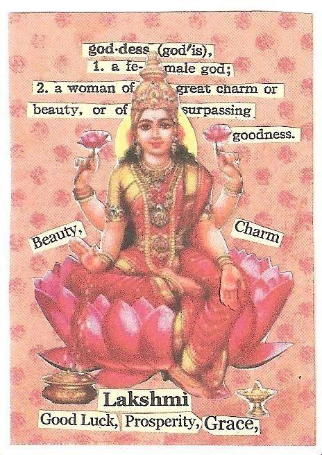 Lakshmi Goddess ~ loved and pinned by http://www.shivohamyoga.nl/ #divine #goddess