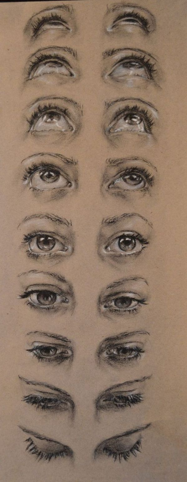 How To Draw An Eye (step By Step Pictures Guides)