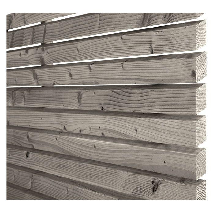 Rettenmeier Fassaden-Profil Rhombus (Grau)