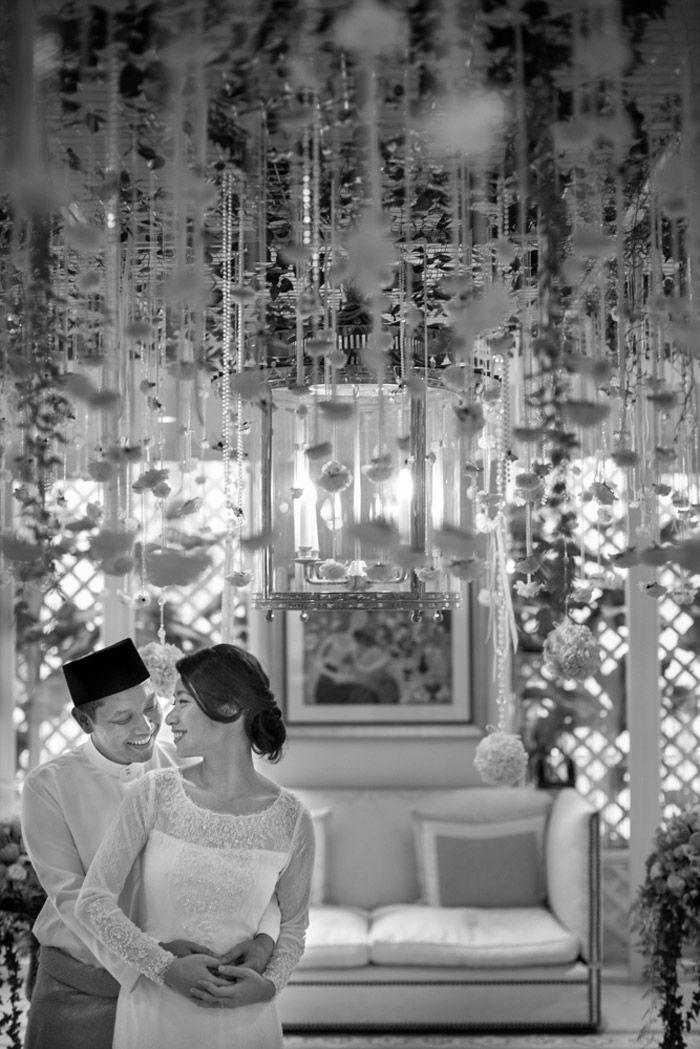 An Indoor Garden Akad Nikah The Wedding Notebook Magazine Muslim Wedding Decorations Wedding Notebook Nikah