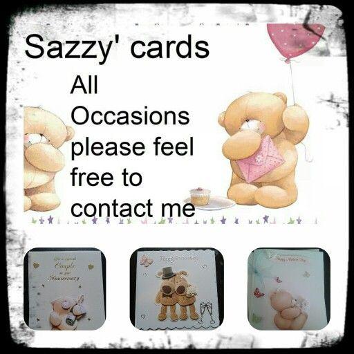 Sazzys cards
