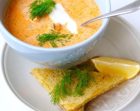 Denna soppan är lika god till vardags som till fest. Så enkelt & grymt god. Får alltid frågor efter receptet när jag bjuder på denna. En middag / förrätt som tar max 20 minuter att laga. Här kommer re
