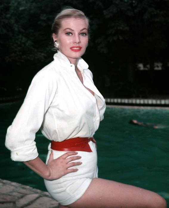 Actress and Style Icon Anita Ekberg Dies at 83: See Her Most ...