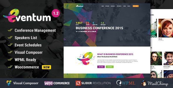 Planning to launch a website for your next event? Eventum is the perfect WordPress theme for any kind of event be it a formal conference or friendly meet-up. This highly customizable theme lets you...