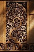 View of Jali Screen with Floral Motifs at Sidi Saiyad Mosque