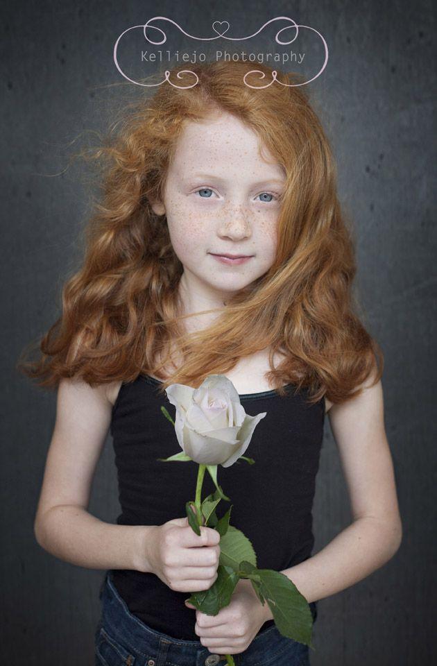Violetta little girl red hair, ebony dick white chick
