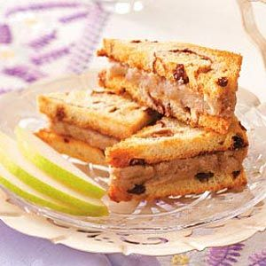 Pear Tea Sandwiches from Taste of Home. Sounds yummy!