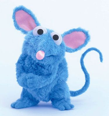 Tutter from Bear in the Big Blue House, just because he makes me laugh!