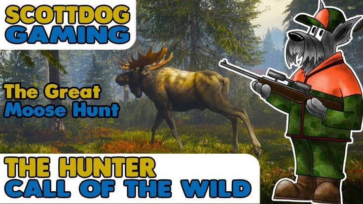 Liked on YouTube: The Great Moose Hunt  - The Hunter Call Of the Wild - ScottDogGaming Thehunter call of the wild footage - The Moose Hunter  Edited footage from the livestream of hunter call of the wild on pc. We took to the reserve to try out our new hu