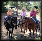 Estes Park Trail Riding at the Cowpoke Corner Corral
