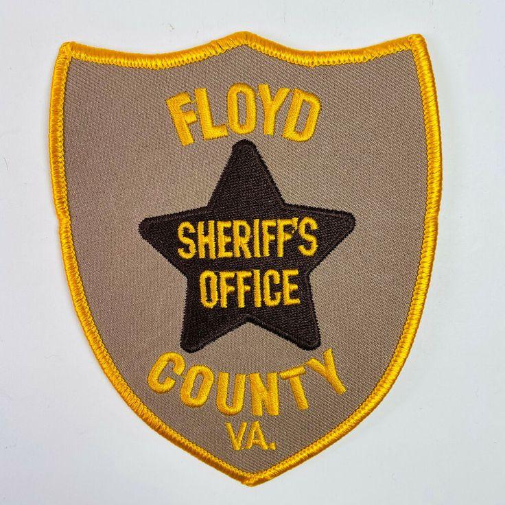 Floyd County Sheriff Virginia Patch в 2020 г