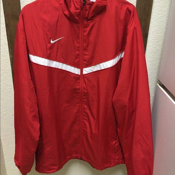 Men's NIKE jacket Red nylon NIKE jacket Nike Jackets & Coats