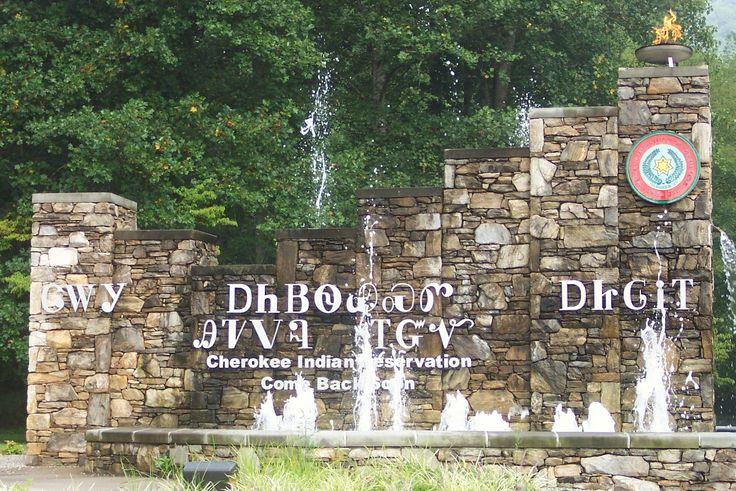 Cherokee Indian Reservation - Cherokee -
