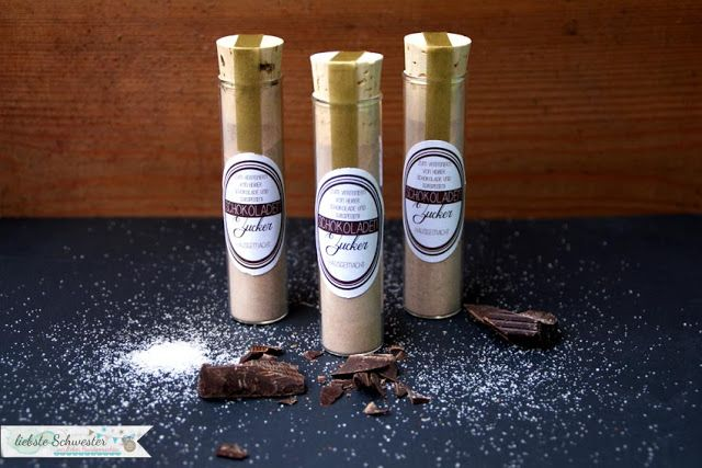 liebste schwester: Geschenketipp - Schokoladenzucker mit freebie