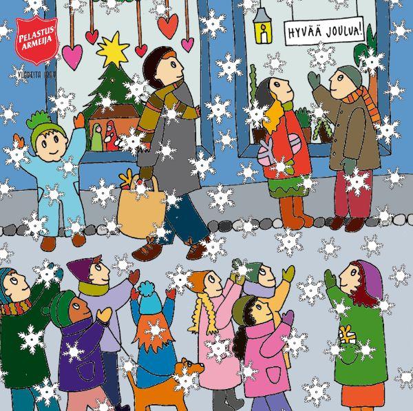 Lasten ja nuorten joulukalenteri vm. 2014