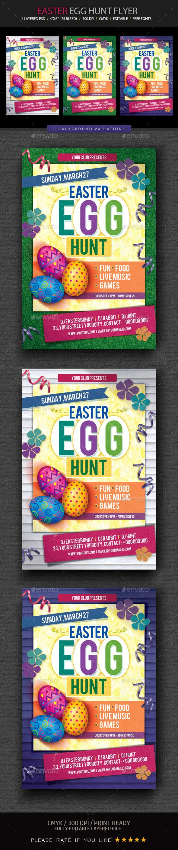 Best Easter Graphics Templates Images On   Flyer