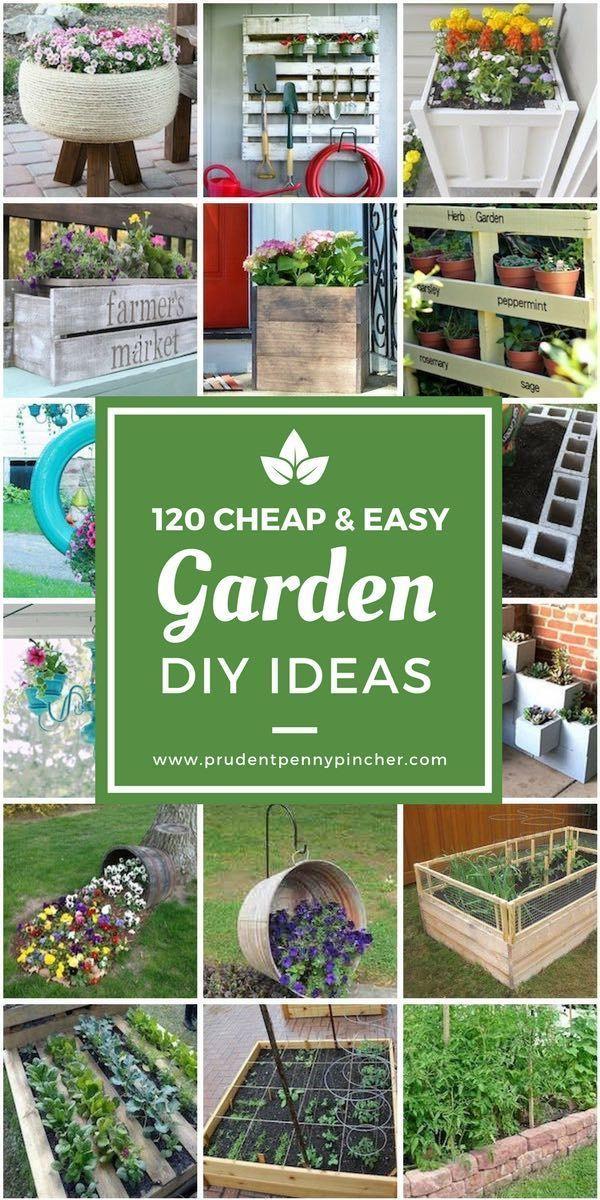 120 Cheap And Easy Diy Garden Ideas With Images Garden Ideas