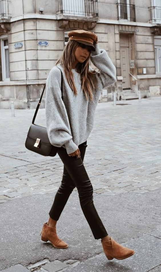 30+ WINTER STREET STYLE LOOKS TO COPY NOW – Outfitier – #fallfashion #falloutfits #winteroutfits #winterfashion