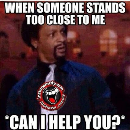 Katt Williams....for me, it's always @ the grocery store checking out....
