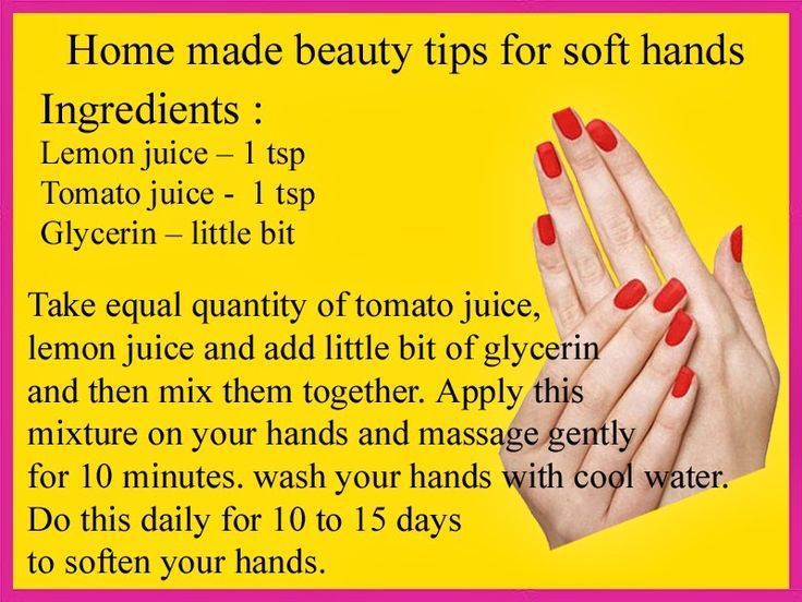 How to keep your hands soft ?  Look at this home made the tip for soft hands. #beauty_tips #skincare #healthtips