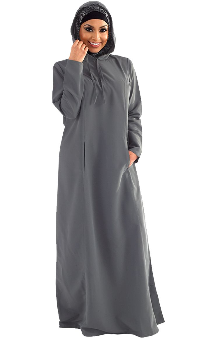 Ghaliyah Abaya | Women | Eastessence.com  ... wonder if I should give hooded abayas a chance in life? lol