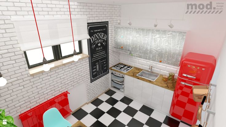Kuchnia '50 - zdjęcie od Michał Dudziński - Kuchnia - Styl Vintage - Michał Dudziński