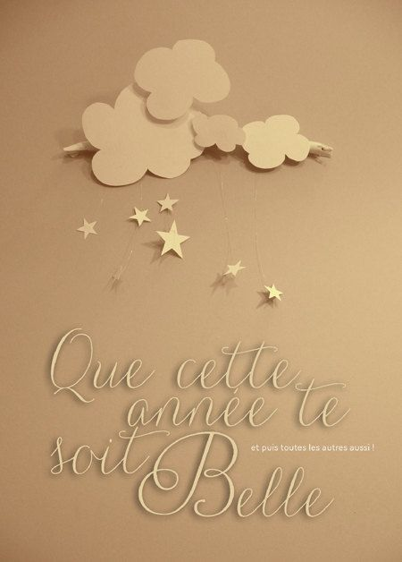 Greeting card - Happy new year  Carte de voeu - bonne année ©celinevoisin.fr