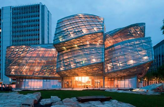 Novartis Campus in Basel by Frank Gehry