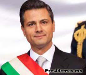 62° presidente de México: Enrique Peña Nieto Fecha de gobierno: Actualmente en el cargo Partido Político: Partido Revolucionario Institucional (PRI)