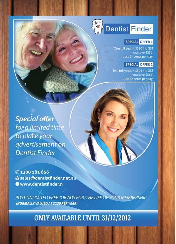 Variations for Dentist finder flyer designs