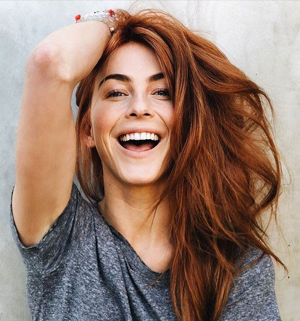 Julianne Hough is now a redhead ! click through to see her transformation