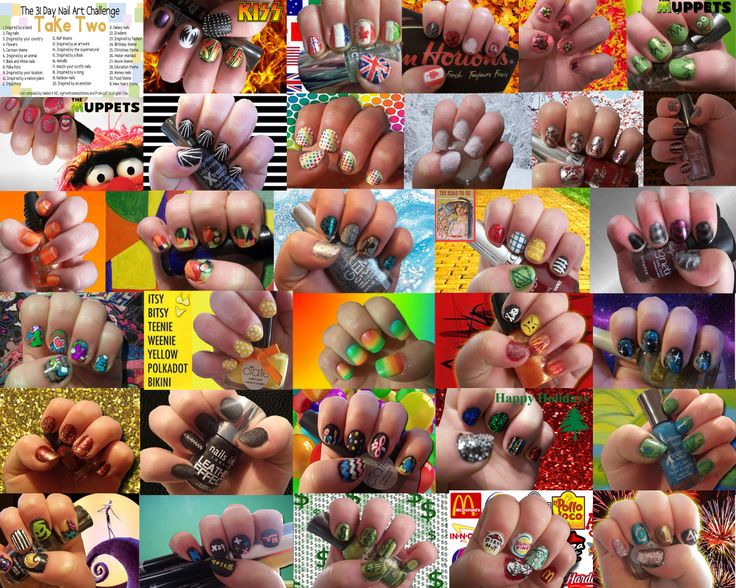 Nail Art Challenge, All 31 days