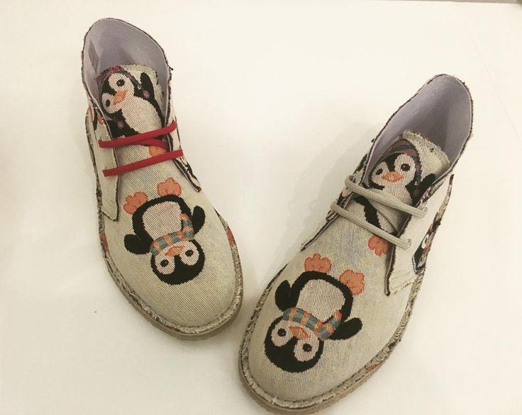...e dopo lorsetto teddy è tornato anche Pingu!! Disponibile ora sul nostro store ufficiale!! www.mygufo.it  #mygufo #pingu #newshoes #crasyshoe #fashonshoes #madeinitalishoes #pinguino #mygufoorigianl