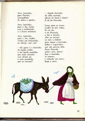 «Arre, burrinho, para Trevões...» O Livro deMarianinha (1ª edição, 1967)