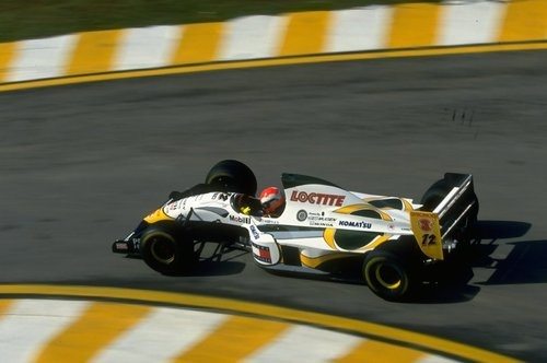 Johnny Herbert, Lotus-Mugen 107C, 1994 Brasilian Grand Prix, Interlagos