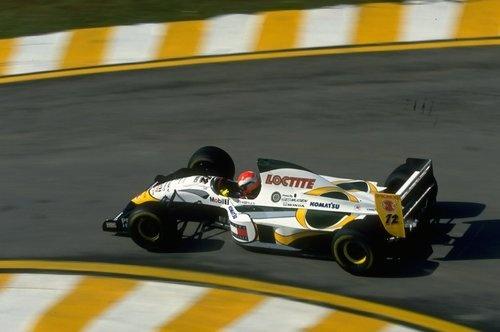 Johnny Herbert, Lotus-Mugen 107C, 1994 Brasilian Grand Prix, Interlagos
