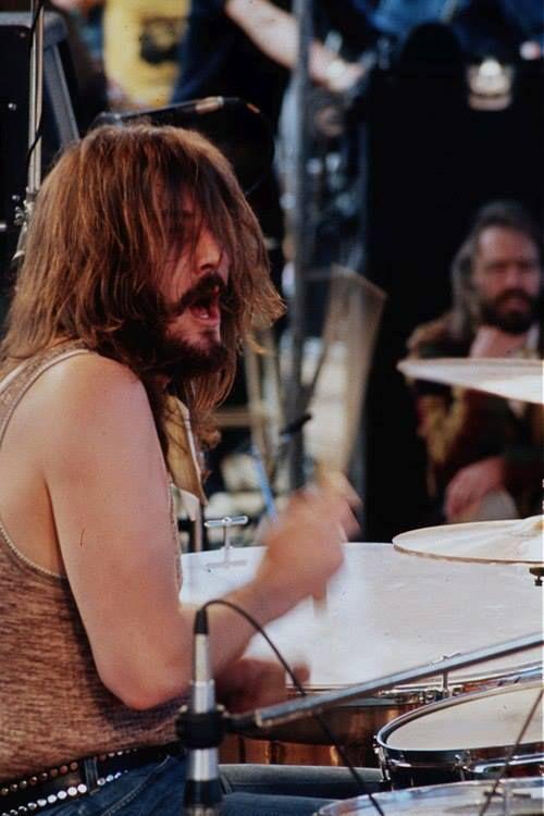 John Bonham- one of the best damn drummers ever!