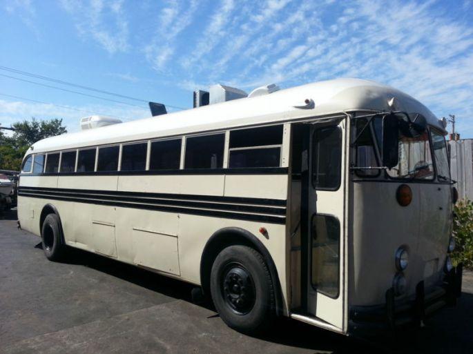 1957 Crown Conversion School Bus 6092 - Antique Buses - Buses for Sale