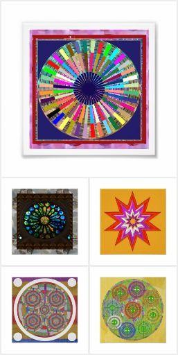 POSTERS Rounds Chakra Mandala Circles